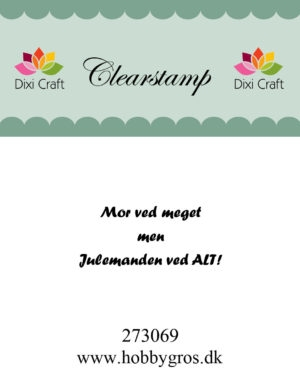 Dixi Craft clear stamp - 273069