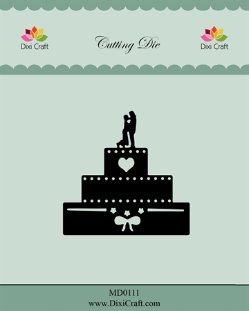 Dixi Craft - Die - Wedding Cake
