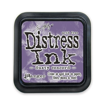 Ranger - Tim Holtz - Distress Ink Pad - Dusty Concord