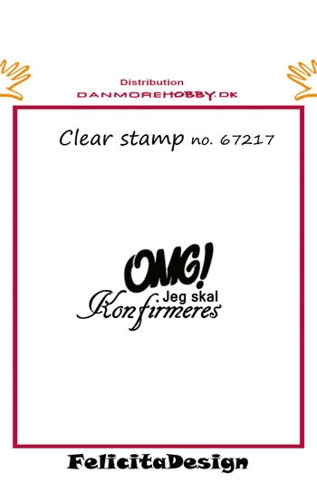 Felicita Design - Clear stamp - 67217