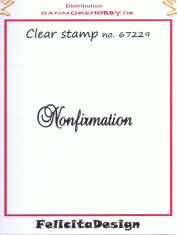 Felicita Design - Clear stamp - 67229