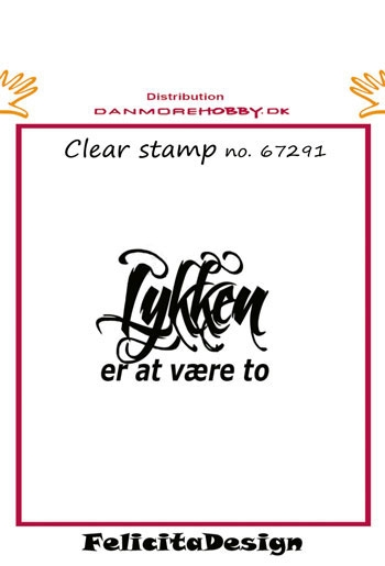 Felicita Design - Clear stamp - 67291