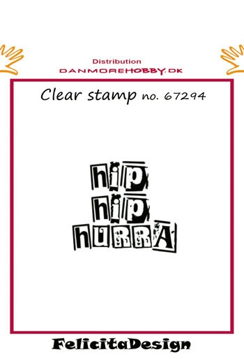 Felicita Design - Clear stamp - 67294
