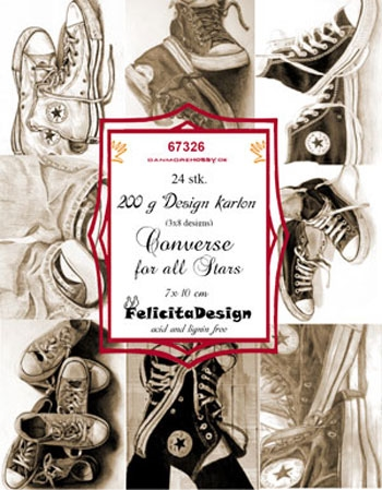 Felicita Design Toppers - Converse All Stars