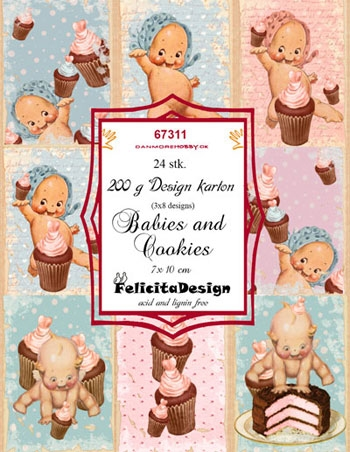 Felicita Design Toppers - Happy babies
