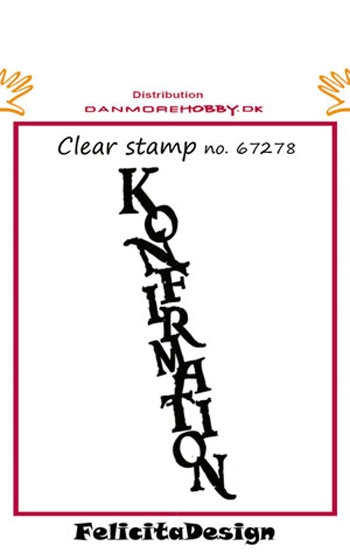 Felicita Design - Clear stamp - 67278