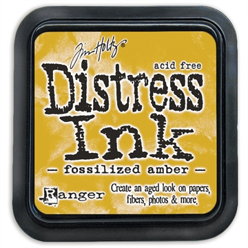 Ranger - Tim Holtz - Distress Ink Pad - Fossilized Amber