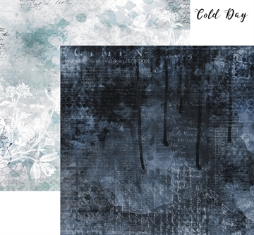 "Happymade - 13arts Design ark - 12x12"" - Until Dawn - Cold Day"