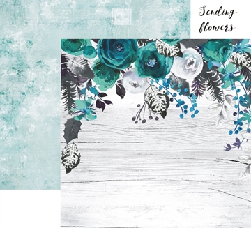 "Happymade - 13arts Design ark - 12x12"" - Until Dawn - Sending Flowers"