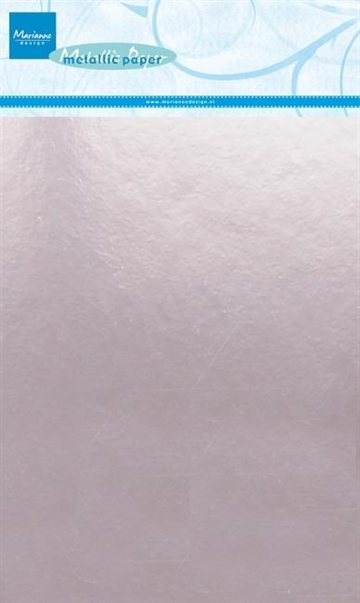 Happymade - Marianne Design paper - Metallic - Light Pink (5 ark A5) - CA3139
