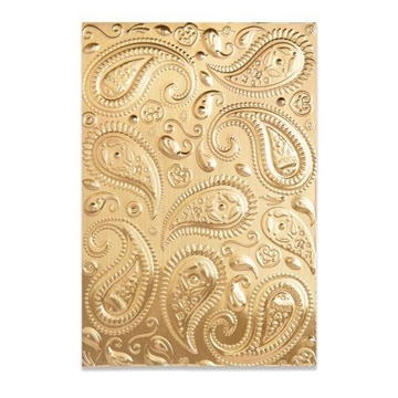 Happymade - Sizzix 3D Embossing folder - Paisley (664796)