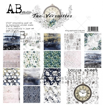 Happymade - AB Studio - Design papers - The Versailles - 12x12""