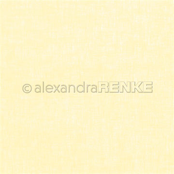 "Happymade - Alexandra Renke - 12x12"" - Linen Lemon Yellow - 10.1360"