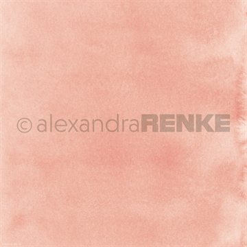 "Happymade - Alexandra Renke - 12x12"" - Mimis Watercolor - Bright Apricot - 10.371"