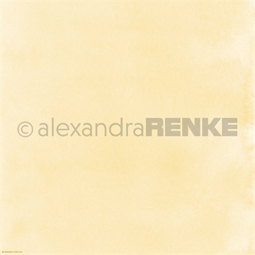 "Happymade - Alexandra Renke - 12x12"" - Mimis Watercolor - Yellow - 10.382"
