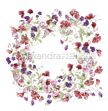 "Happymade - Alexandra Renke - 12x12"" - Wreath of Vethces - 10.692"