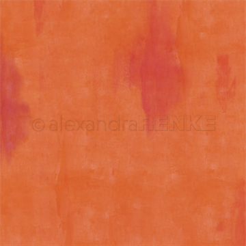 "Happymade - Alexandra Renke - 12x12"" - Autumn Calm Orange - 10.1451"