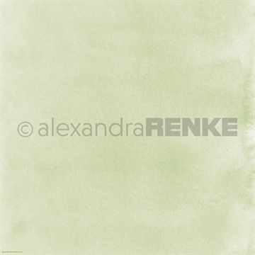 "Happymade - Alexandra Renke - 12x12"" - Mimis Watercolor - Shamrock Green - 10.359"