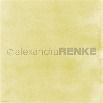 "Happymade - Alexandra Renke - 12x12"" - Mimis Watercolor - May Green 1 - 10.360"
