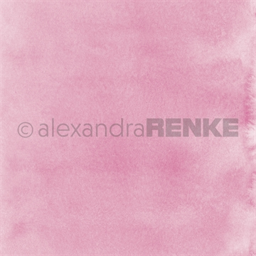 "Happymade - Alexandra Renke - 12x12"" - Mimis Watercolor - Bright Pink - 10.376"