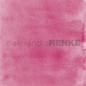 "Happymade - Alexandra Renke - 12x12"" - Mimis Watercolor - Dark Pink - 10.377"