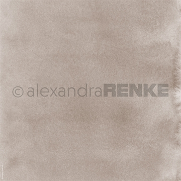 "Happymade - Alexandra Renke - 12x12"" - Mimis Watercolor - Mud Medium - 10.413"