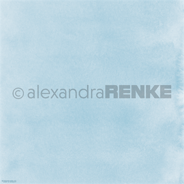 "Happymade - Alexandra Renke - 12x12"" - Mimis Watercolor - Light Blue - 10.547"