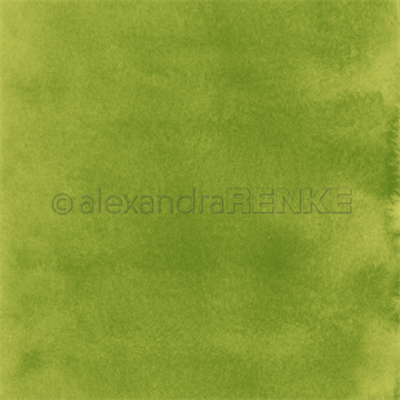 "Happymade - Alexandra Renke - 12x12"" - Mimis Watercolor - Green - 10.901"