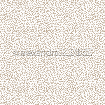 "Happymade - Alexandra Renke - 12x12"" - Dot Pattern Gold - 10.1123"