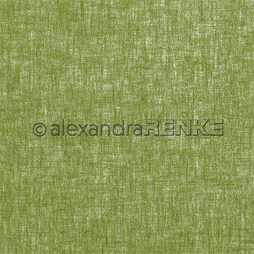 "Happymade - Alexandra Renke - 12x12"" - Linen Pickled Gherkin Green - 10.998"