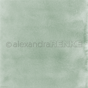 "Happymade - Alexandra Renke - 12x12"" - Mimis Watercolor - Reed Green Bright - 10.367"