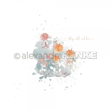 "Happymade - Alexandra Renke - 12x12"" - Memories - Chrysanth Blot - 10.1950"