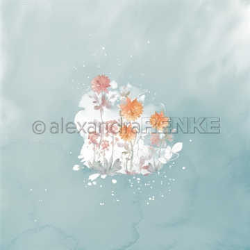 "Happymade - Alexandra Renke - 12x12"" - Memories - Chrysanth Blot on Ambrosia - 10.1951"