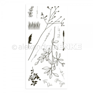 Happymade - Alexandra Renke - Clear stamp - Grasses - Memories (CS-XX-AR-FL0008)