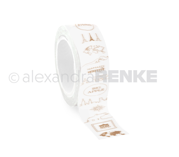 Happymade - Alexandra Renke - Washi Tape - Travel (WT-AR-T0001)