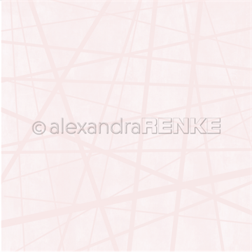 "Happymade - Alexandra Renke - 12x12"" - Wild Stripes Rose - 10.1837"