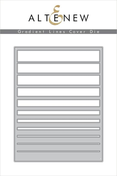 Happymade - Altenew Cover die - Gradient Stripes