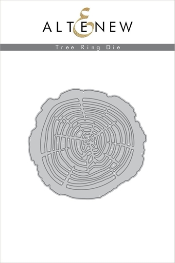 Happymade - Altenew die - Tree Ring