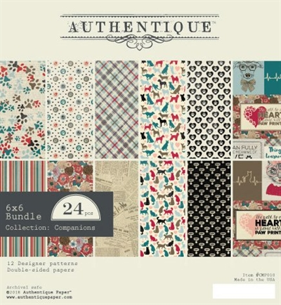 Happymade - Authentique - Paper Pad - Companions (CMP010)