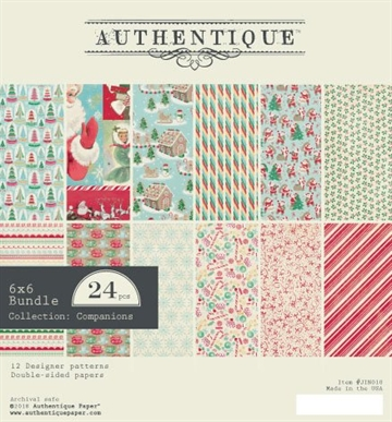 Happymade - Authentique - Paper Pad - Jingle (JIN010)