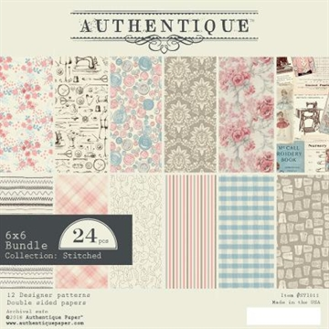 Happymade - Authentique - Paper Pad - Stitches (STI011)