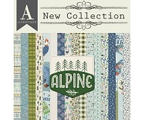 Happymade - Authentique - Paper Pad - Alpine (ALPL010)