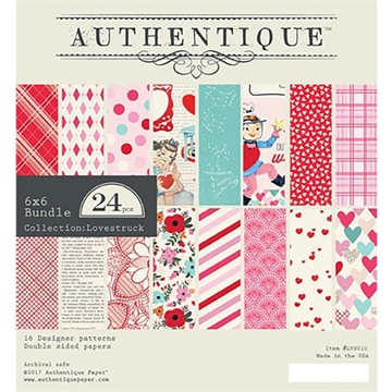 Happymade - Authentique - Paper Pad - Lovestruck (LVS010)