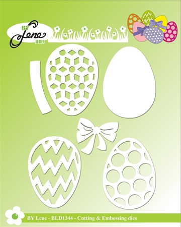 Happymade - By Lene Design - Die - Easter Eggs - BLD1344