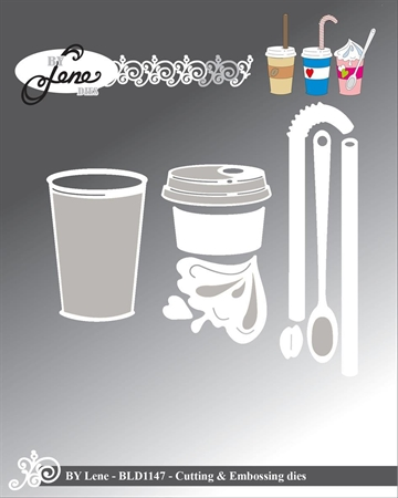 Happymade - By Lene Design - Die - Cup w/lid - BLD1147
