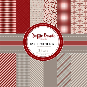 Soffie Bonde - Paper Pad - 15x15cm - Baked With Love
