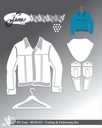 Happymade - By Lene Design - Die - Jacket - BLD1233