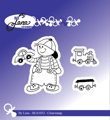 Happymade - By Lene Design - Clear stamp - 212032