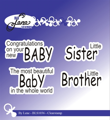 Happymade - By Lene Design - Clear stamp - 212036