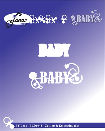Happymade - By Lene Design - Die - Baby -  BLD1048